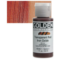 Transparent Red Iron Oxide