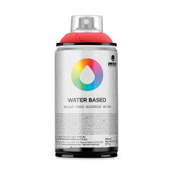 MTN Water Based Spray Paint - Naphthol Red Deep, 300 ml Can