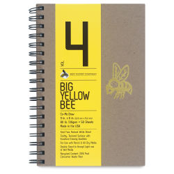 Big Yellow Bee Co-Mo Sketchbook - 9'' x 6'', Wire Bound, 50 Sheets