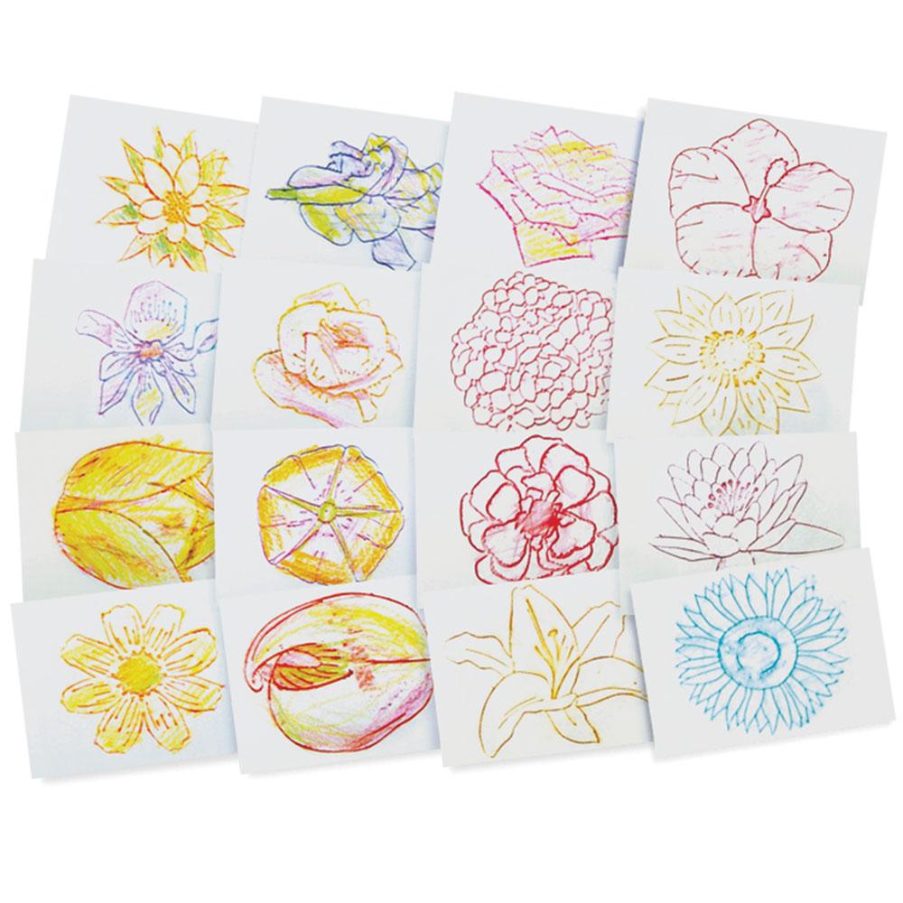 Roylco R-5839BN Rubbing Plates 8 Patterns Textures 3 Packs//CT