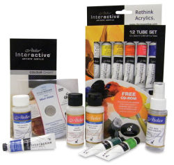 Chroma Atelier Interactive Artists' Acrylics - Plein Air Painting Set