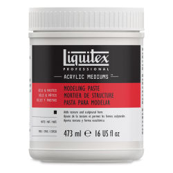 Liquitex Medium - Modeling Paste, 16 oz jar