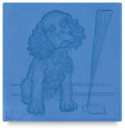 Metal Smith Mold - 4'' x 4'', Cocker Spaniel