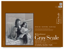 Gray Scale Pad, 15 Sheets