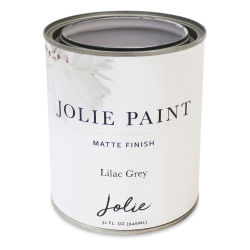 Jolie Matte Finish Paint - Lilac Grey, Quart