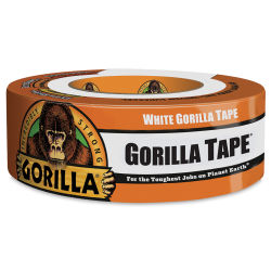 Gorilla Tape - 1.88'' x 10 yds, White, Roll