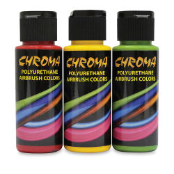 Chroma Polyurethane Airbrush Paints and Sets