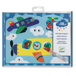 Djeco Petit Gift Paint with Water Kits- Hidden Sky