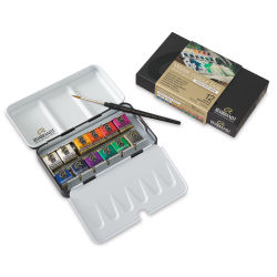 Rembrandt Artists' Watercolors - Opaque White Mixing Set of 12 Pans