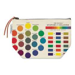 Cavallini Color Wheel Cotton Pouch