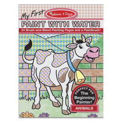 Melissa & Doug My First Paint with Water Activity Book - Animals