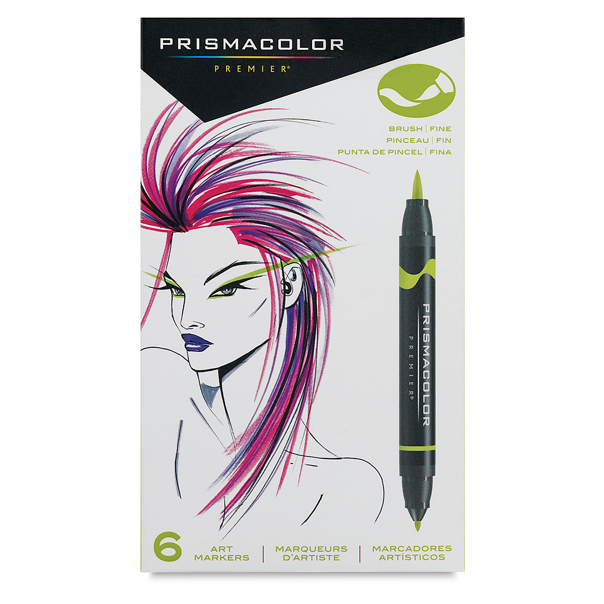Prismacolor Premier Double-Ended Brush Tip Markers and Sets