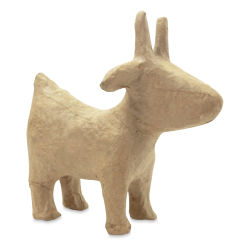 DecoPatch Small Paper Mache Animal - Goat