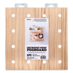 Darice Wood Pegboard System - Peg Board, Square, 12'' x 12''