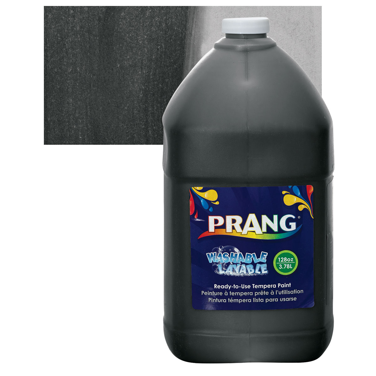 Prang Ready-To-Use Washable Tempera Paint - Black, Gallon