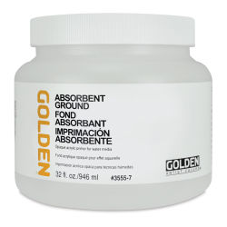 Golden Absorbent Ground - White, Quart