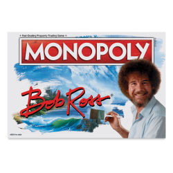 Bob Ross Monopoly Front of Box