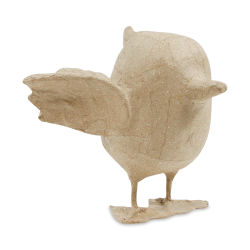 DecoPatch Medium Paper Mache Figure - Bird