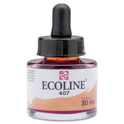 Ecoline Liquid Watercolor with Dropper - Deep Ochre, 30 ml jar