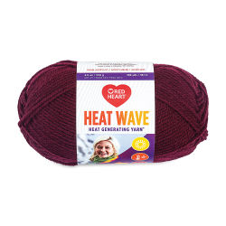 Red Heart Heat Wave Yarn - Luggage