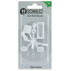 "Schulcz Scale Model Furniture Set - Bathroom, 1:50, 1/4"" (front of package)"