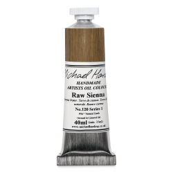 Michael Harding Artists Oil Color - Raw Sienna, 40 ml tube