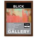 Blick Wood Gallery Frame - Walnut, 9'' x 12''