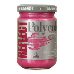 Maimeri Polycolor Vinyl Paints - Reflect Magenta, 140 ml