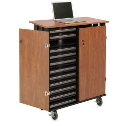 Oklahoma Sound Charging Storage Cart - 24 Laptop Capacity
