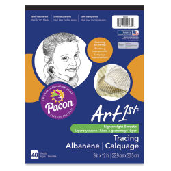 ART1st Tracing Pad - 9'' x 12'', 40 Sheets