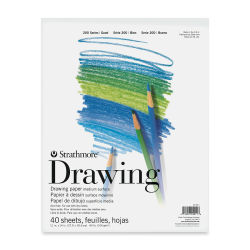 Strathmore 200 Series Drawing Paper Pad - 11'' x 14'', 40 Sheets