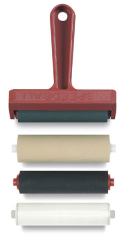 Brayer Kit with 4 Rollers