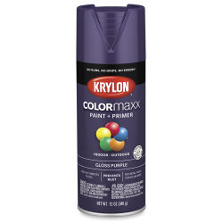 Krylon Colormaxx Spray Paint - Purple, Gloss, 12 oz