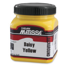 Matisse Background Colors Acrylic Paint - Daisy Yellow, 250 ml