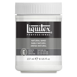 Liquitex Texture Gel - Natural Sand Fine, 8 oz jar