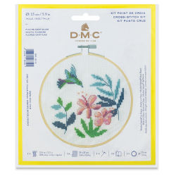 DMC Stitch Kit - Exotic Flowers (In packaging)