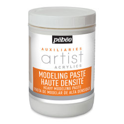 Pebeo Modeling Paste - 1 liter bottle