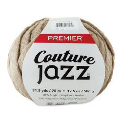 Premier Yarn Couture Jazz Jumbo Yarn - Beige