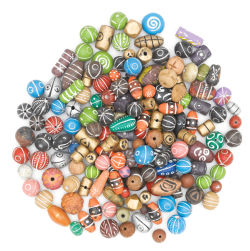 Terra Cotta Clay Bead Assortment