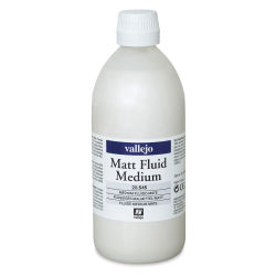 Vallejo Acrylic Fluid Medium - Matte, 500 ml