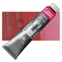 Maimeri Classico Oil Color - Permanent Carmine, 200 ml tube