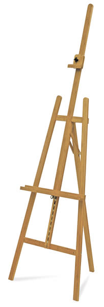 Bamboo Lyre Easel  Front Right Angle View