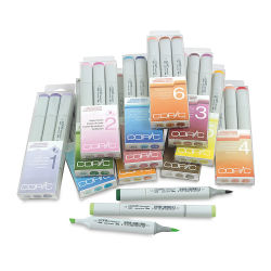 Copic Sketch Markers and Sets