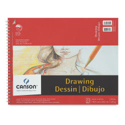 Canson Foundation Drawing Pad - 14'' x 17'', 30 Sheets