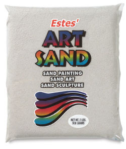 Estes' Colored Art Sand - 2 lb, White