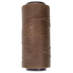 Beadsmith Waxed Poly Cord - Brown