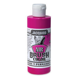 Jacquard Airbrush Paint - 4 oz, Fluorescent Raspberry