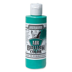 Jacquard Airbrush Paint - 4 oz, Opaque Green