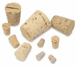 Cork Stoppers, Pkg of 40