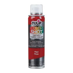 Tulip ColorShot Instant Fabric Color Spray - Red